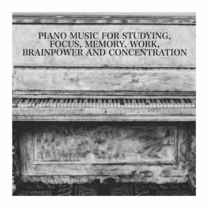 Study Hard, Focus Study, Chillout Piano Lounge