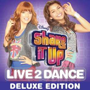 Cast of Shake It Up: Live 2 Dance