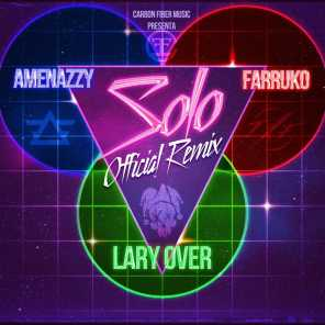 Carbon Fiber Music, Lary Over, Amenazzy