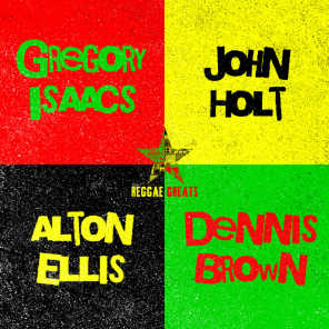 Alton Ellis, Gregory Isaacs, Dennis Brown & John Holt