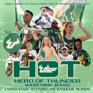 University of South Florida Herd of Thunder Marching Band