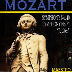 "Mozart: Symphonies No 40 and 41, ""Jupiter"""