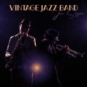 Vintage Jazz Band Jam Session - Brilliant Instrumental Music Thanks to Which You Can Move Your Thoughts to the Good Old 50s