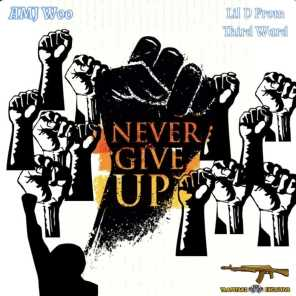 Never Give Up (feat. Amj Woo)
