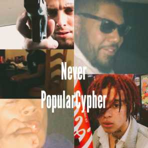 NeverPopularCypher (feat. $agiao, Spady, 13, Numbfriend)