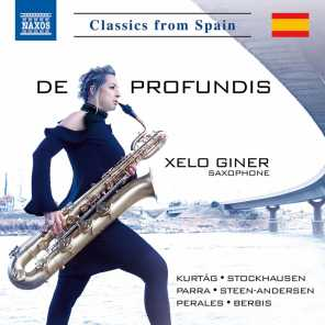 Signs, Games & Messages for Oboe & English Horn (Excerpts): No. 4, Ein Brief aus der Ferne an Ursula [Arr. X. Giner for Alto Saxophone]
