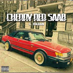 Cherry Red Saab