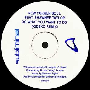 Do What You Want To Do (Kideko Extended Remix) [feat. Shawnee Taylor]