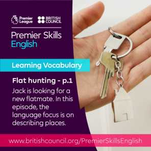 Learning Vocabulary - Flat hunting - Part 1