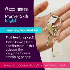 Learning Vocabulary - Flat hunting - Part 2