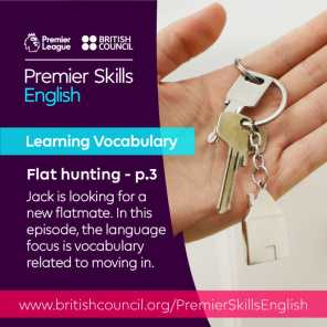 Learning Vocabulary - Flat hunting - Part 3