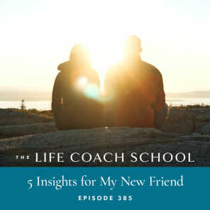 Ep #385: 5 Insights for My New Friend