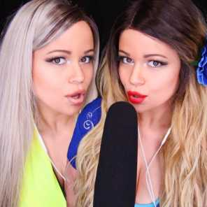 ASMR MOUTH SOUNDS INTENSE with Twin Tingles [VERY TINGLY]