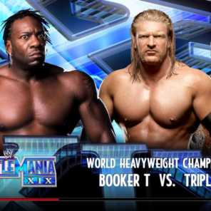 What If Booker T Beat HHH at WrestleMania 19?