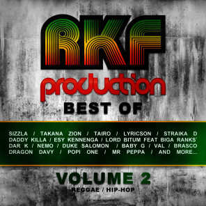 Rkf Production Best Of, Vol. 2 (All the Best Reggae, Ragga, Hip Hop Tunes of Rkf Production)