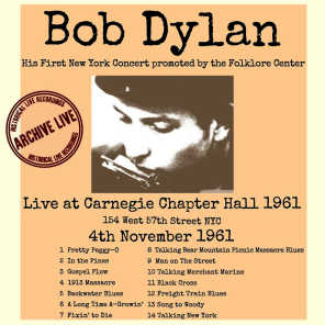 Talking New York (Live 1961 Carnegie Chapter Hall)