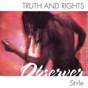 Truth & Rights Observer Style