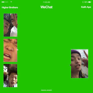 WeChat (feat. Keith Ape)