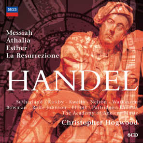 Hogwood conducts Handel Oratorios - 8 CDs