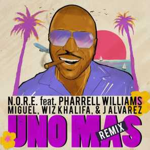 Uno Más (Remix) [feat. Pharrell Williams, Wiz Khalifa, Miguel & J. Alvarez]