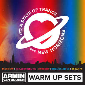 A State Of Trance 650 - Warm Up Sets (Moscow, Yekaterinburg, Utrecht, Buenos Aires & Jakarta)