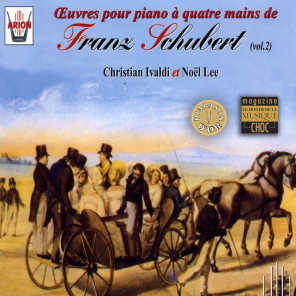 Schubert : Oeuvres pour piano à 4 mains, vol.2