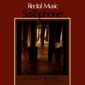 Recital Music for Saxophone