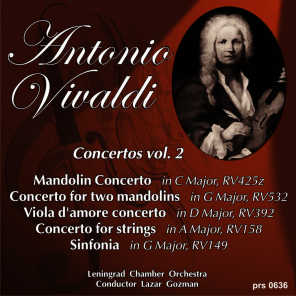 Antonio Vivaldi. Concerto for Two Mandolins in G Major RV532