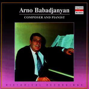 Composer And Pianist. Arno Babadjanian